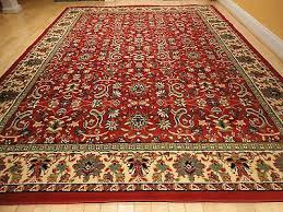 1 of 6free large traditional area rugs persian style carpet oriental rug 8x10 red rugs 5x8