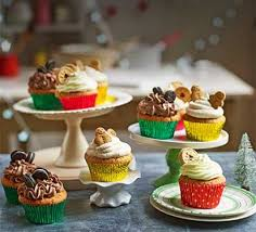 Christmas Cupcake Recipes Bbc Good Food