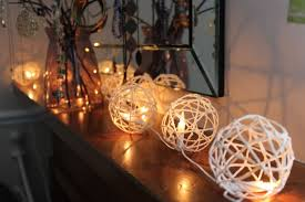 DIY-Twine-Lanterns. There is something about fairy lights ...