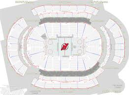 prudential center seating chart with rows beautiful prudential center newark arena seat and row numbers detailed