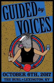 Concert Poster Design Custom Concert Poster Design For Guided By Voices Kentucky