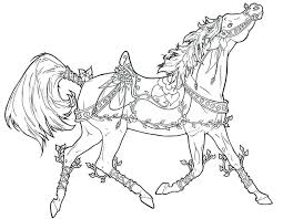 Horse Coloring Pages For Toddlers Adult Horses Colouring Kids