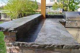 rustic outdoor countertop fresh how to make concrete countertops