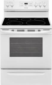 white electric range. Ft. Self-Cleaning Freestanding Electric Range - White