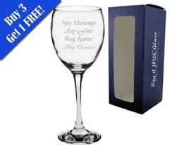 image is loading personalised wine gl end birthday gifts 18th 21st