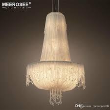 modern design chandelier lighting in chandeliersluxury crystal chain hanging light for restaurant hotel dining bedroom lamps pendant lighting fixtures