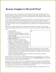 Cover Letter How To Get Resume Templates On Microsoft Word 2007 2003