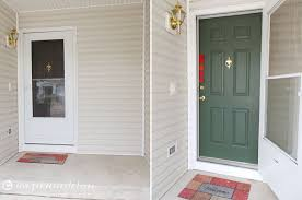 what color to paint front doorHowto Paint Your Front Door  Love Pomegranate House