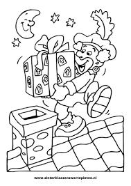 25 Het Beste Kleurplaten Sinterklaas En Zwarte Piet Mandala