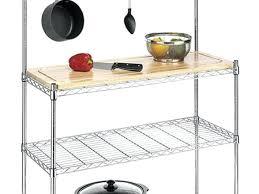 whitmor chrome shelf supreme kitchen bakers rack wood chrome review whitmor chrome shelf