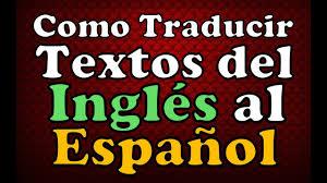 traductor de google o traducir palabras ingles español traduccion en linea 2019