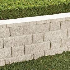 limestone concrete retaining wall block