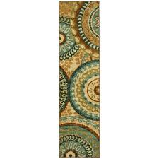 mohawk home forest suzani multi 2 ft x 8 ft runner rug