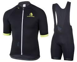 Etxeondo Size Chart 2019 Etxeondo Entzun Black Yellow Cycling Jersey And Bib