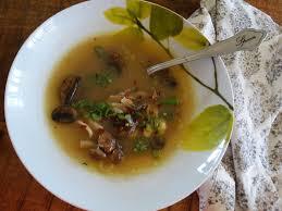 Lemongrass Seafood Soup with ...