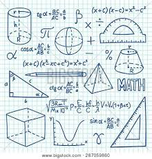 Doodle Maths And Geometry Concept Trigonometry Functions