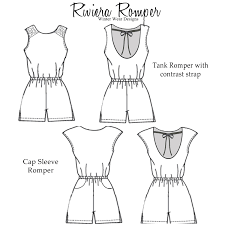 Women's Romper Pattern Gorgeous Sewing Mama RaeAnna Rompers For Women