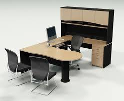 Cool Modern Desks Stunning Office Furniture Interior Visualizations  Spotless Consistency