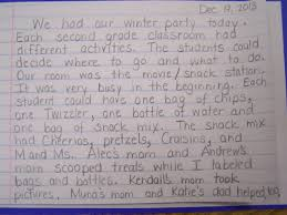 amy pyle miss pyle s winter writing 19 our winter party