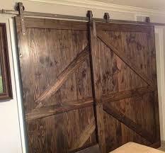 fresh single track bypass sliding barn door hardware lets 2 doors overlap of keyword