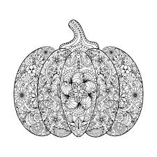 Free Coloring Page Coloring Halloween Pumpkin