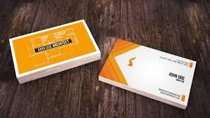 Simple Architect Business Card Albertdesign