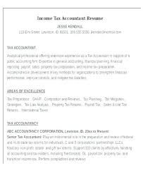Tax Accountant Resume Impressive Property Accountant Resume Sample Accounting Resume Interesting