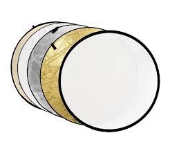 <b>Светоотражатель Fujimi</b> 110cm FJ-702 5-in-1 White Gold Silver ...