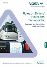 One Tachograph Chart Covers A Period Of Rules On Drivers Hours And Tachographs Pcv By Mike Cannon