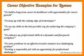 11 Example Career Objectives Gcsemaths Revision
