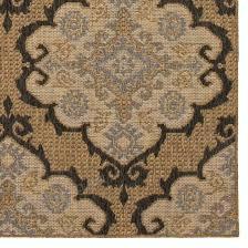 allen roth 2017 outdoor natural indoor outdoor moroccan area rug common