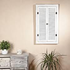 Wandspiegel Spiegelfenster Mit Fensterläden Shabby Kaufen Bei