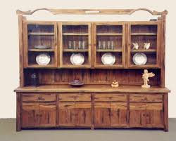 image of vintage buffet hutch furniture