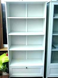 bookcase gloss white bookcase narrow small with glass doors wh