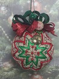 Learn to make these quilted ornaments from fabric and ribbon with ... & Learn to make these quilted ornaments from fabric and ribbon with NO SEWING  REQUIRED! - www.patternplease.com | christmas ornaments | Pinterest |  Ornament, ... Adamdwight.com