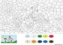 Coloriage Magique Dessin Imprimer Gratuit