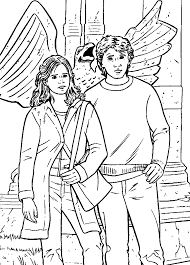 Harry Potter Coloring Page Arenda Stroy