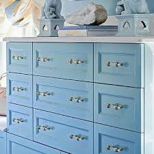 glass cabinet pulls. blue built in dresser with brass and glass pulls cabinet r