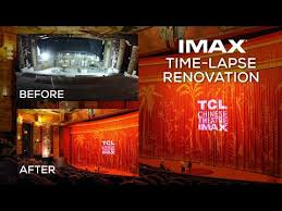 Tcl Chinese Theatre Imax Seating Chart Tcl Chinese Theatre Imax Renovation Time Lapse Video Youtube