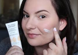 almay smart shade foundation spf 15 100 light pale review 2