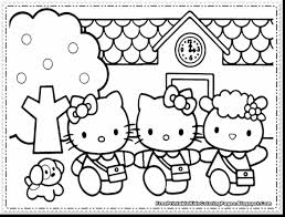Hello Kitty Coloring Pages For Girls Free The Art Jinni
