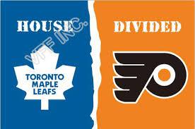 Flyers Flag Toronto Maple Leafs Philadelphia Flyers Flag House Divided