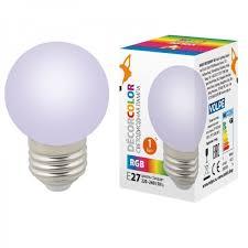 <b>Лампа</b> декоративная светодиодная <b>Volpe</b> (ul-00005808) <b>e27 1w</b> ...