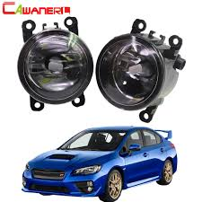 2008 Wrx Fog Light Kit Us 19 21 39 Off Cawanerl 2 X Car Accessories Front Fog Light Assembly Lampshade H11 Led Halogen Lamp Drl 12v For Subaru Wrx Sti 2015 2016 In Car