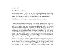 claudius soliloquy hamlet gcse english marked by teachers com document image preview