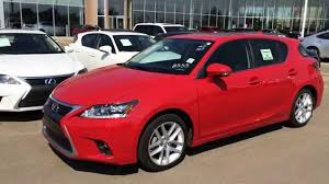 New Red on Black 2014 Lexus CT 200h Hybrid Touring Package Review ...