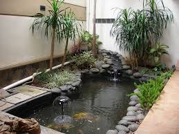 Small Picture Inspirations Modern Indoor Fish Pond Design To Decoration Your