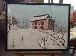 canvas srinagar painting