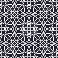 Celtic Pattern Custom Seamless Monochrome Celtic Pattern Vector Image Vector Artwork Of