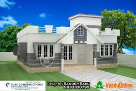 Small Picture Low cost Single floor home design 1258 sq ft